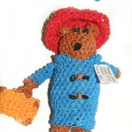 Paddington Bear Doll loom band - LoombandSA