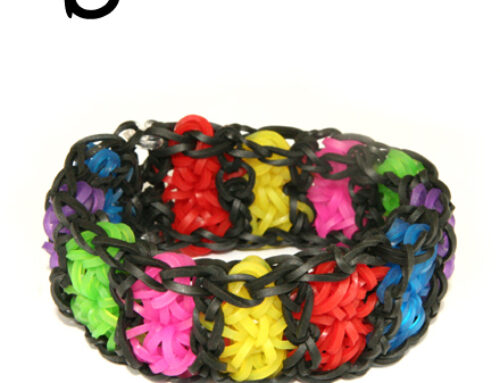 Boardwalk Loom Band Bracelet Tutorial