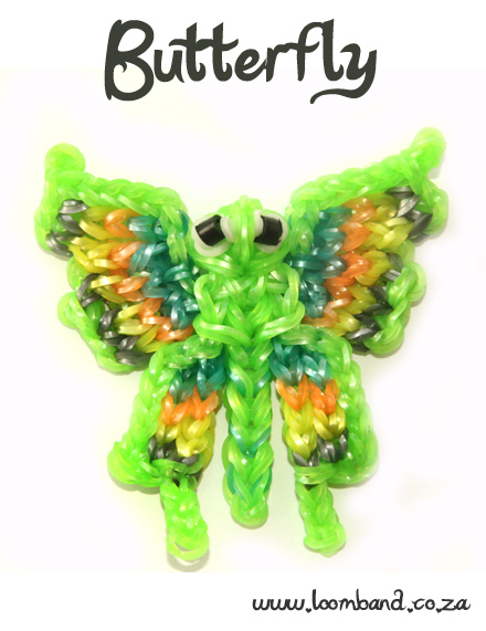Butterfly Loom Band Tutorial