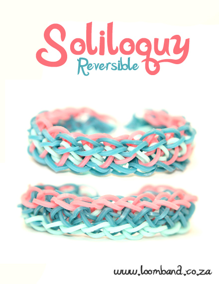 Soliloquy Loom Band Bracelet Tutorial