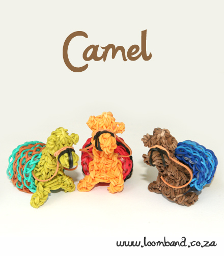 camels loom band tutorial