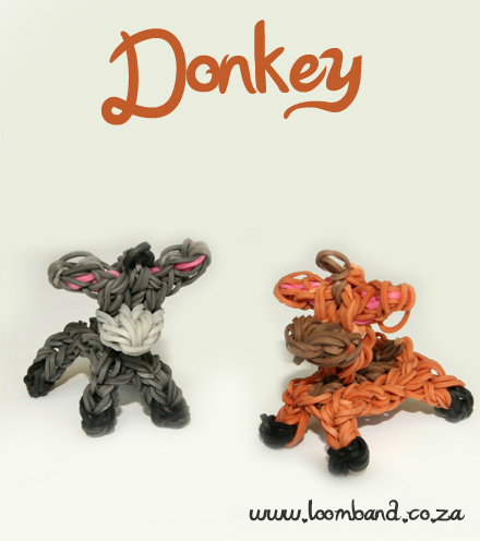 Donkey Loom Band tutorial