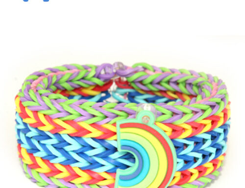 Hexafishtail Bracelet loom band tutorial