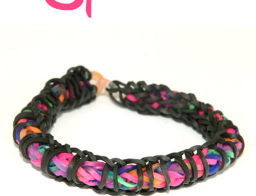 Spirilla Bracelet loom band tutorial