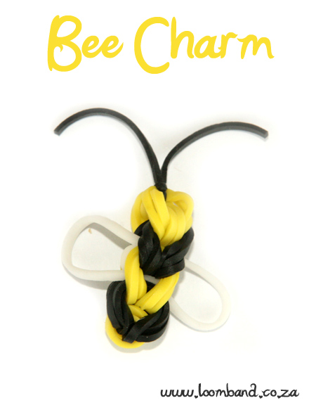 Bee Loom Band tutorial - Loomband SA