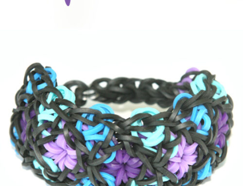 Flosaic Loom Band bracelet Tutorial