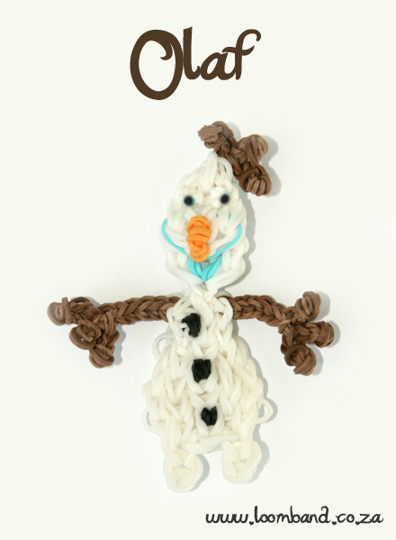 Olaf Loom Band Figurine TutorialSA