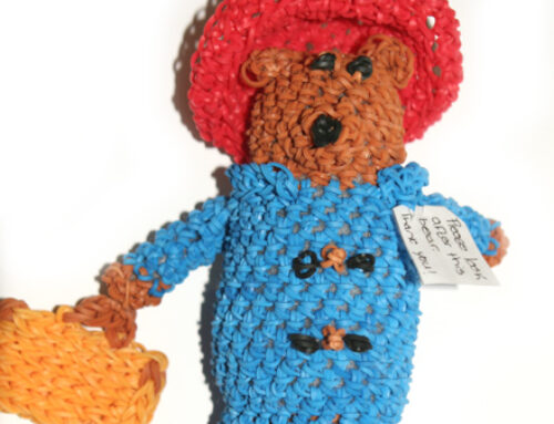 Paddington Bear Doll loom band