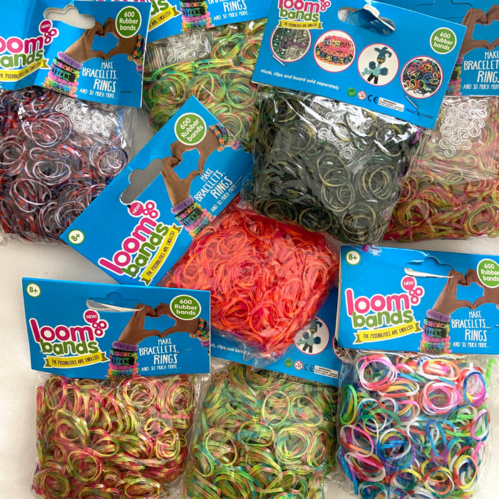 Camo loom band set 8 pack