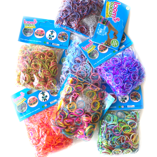 Camo loom band set 7 pack