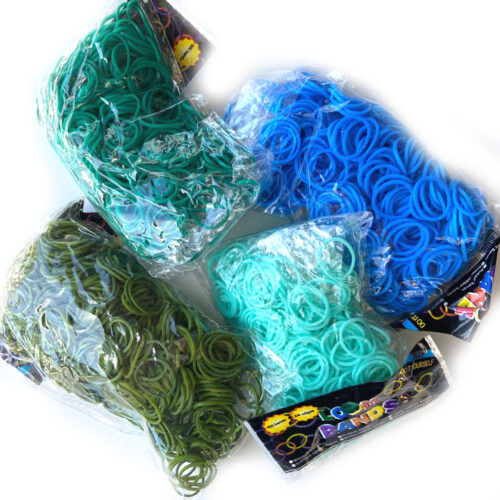 Jungle loomband set 4 pack